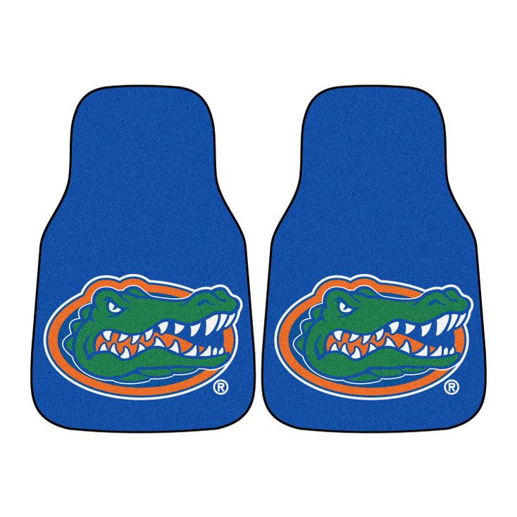 University of Florida Blue Carpet Car Mat, Set of 2
