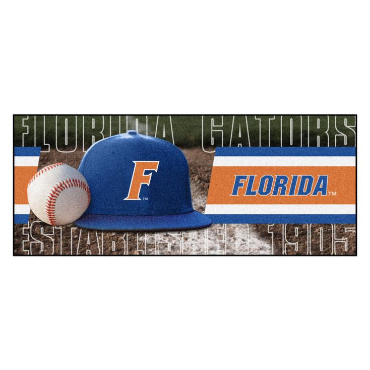 "30"" x 72"" Florida Baseball Style Rectangle Runner Mat"