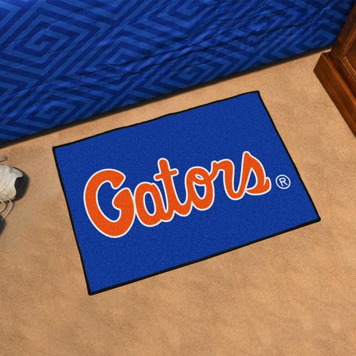 "19"" x 30"" University of Florida Blue Rectangle Starter Mat"