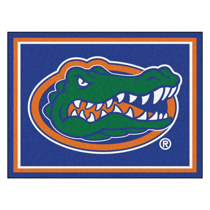8' x 10' University of Florida Gators Blue Rectangle Rug
