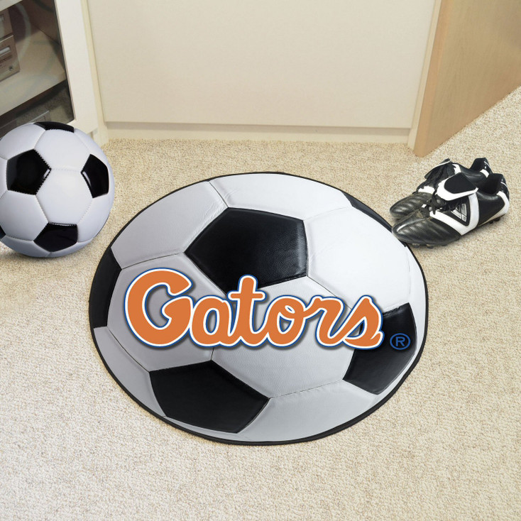 "27"" University of Florida Gators Soccer Ball Round Mat"