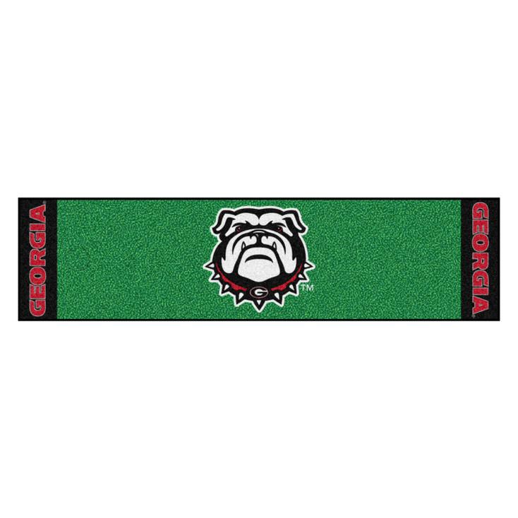 "18"" x 72"" University of Georgia Putting Green Runner Mat"