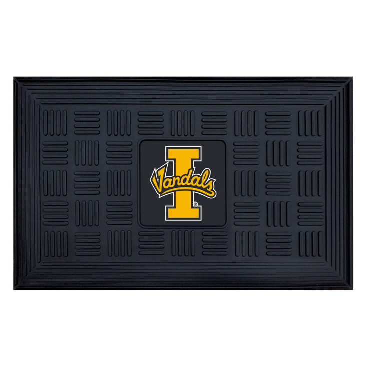 "19.5"" x 31.25"" University of Idaho Medallion Rectangle Door Mat"