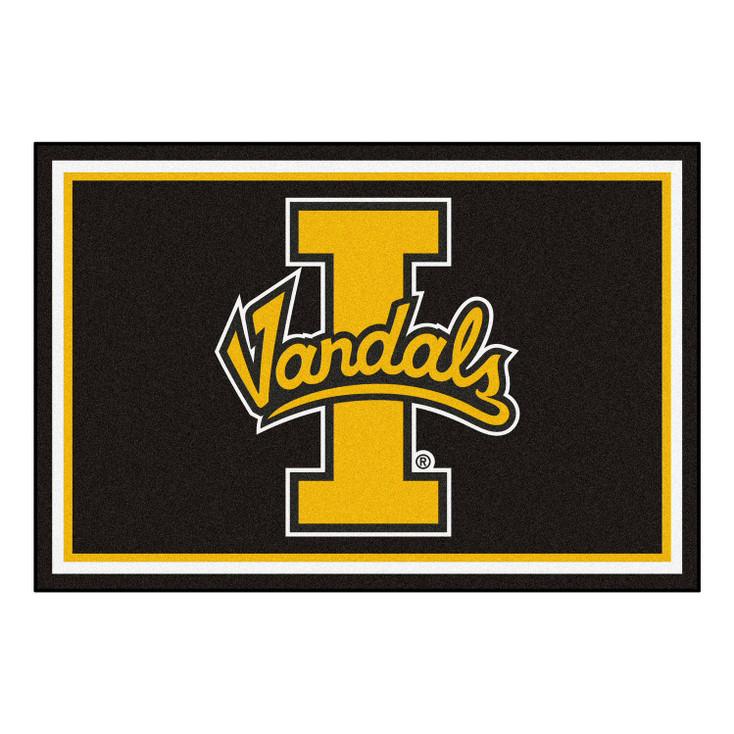 5' x 8' University of Idaho Black Rectangle Rug
