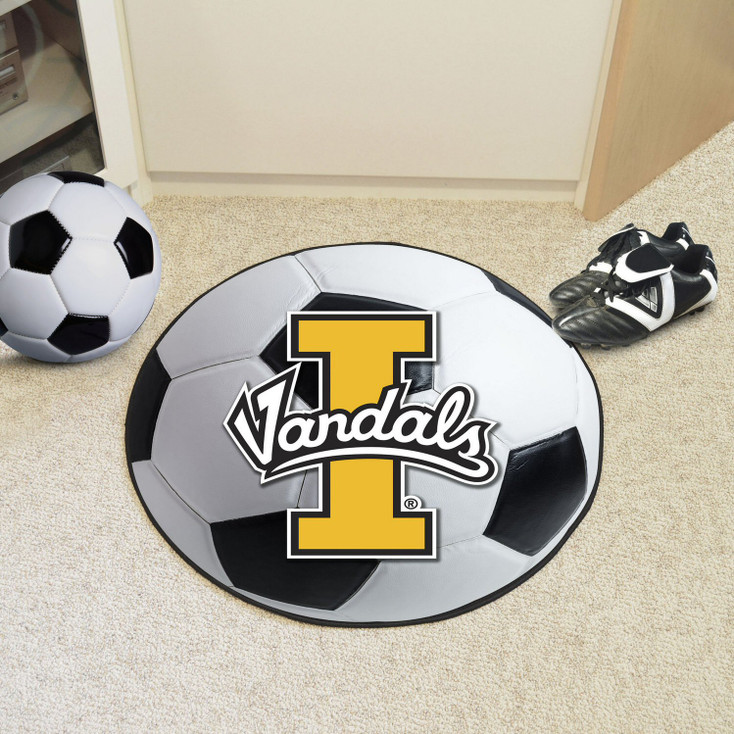"27"" University of Idaho Soccer Ball Round Mat"