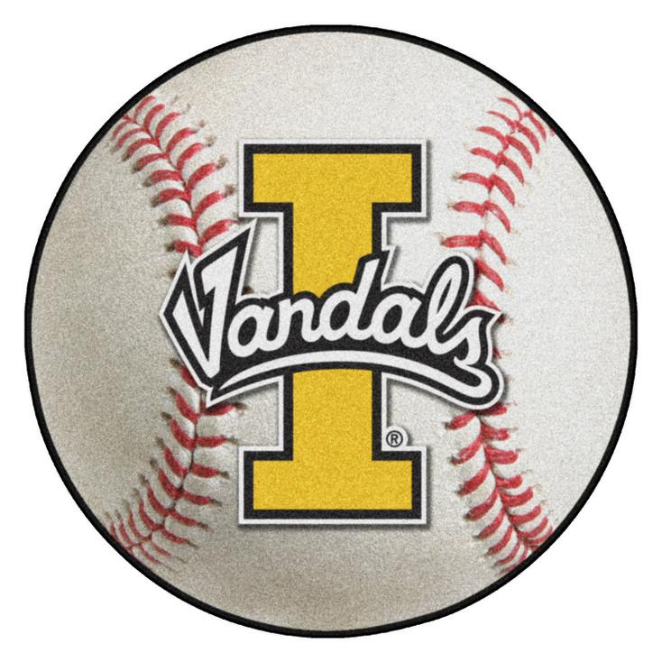 "27"" University of Idaho Baseball Style Round Mat"