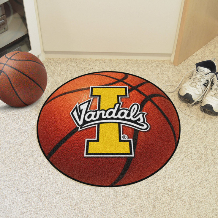 "27"" University of Idaho Basketball Style Round Mat"