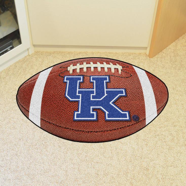 """20.5"""" x 32.5"""" University of Kentucky Football Shape Mat"""