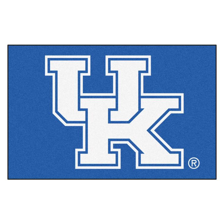 """19"""" x 30"""" University of Kentucky Blue Rectangle Starter Mat"""