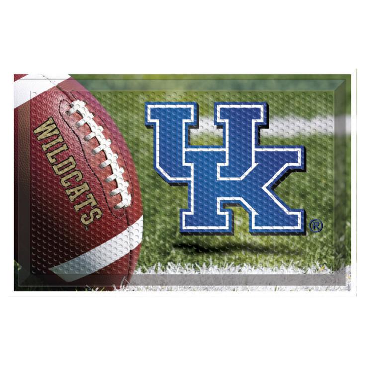 "19"" x 30"" University of Kentucky Rectangle Scraper Mat - ""UK"" Logo"