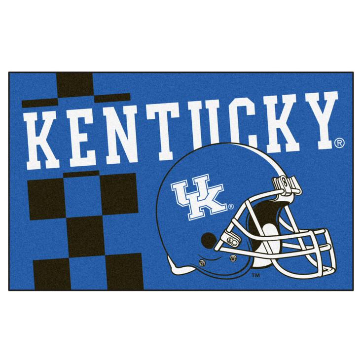 """19"""" x 30"""" University of Kentucky Uniform Blue Rectangle Starter Mat"""