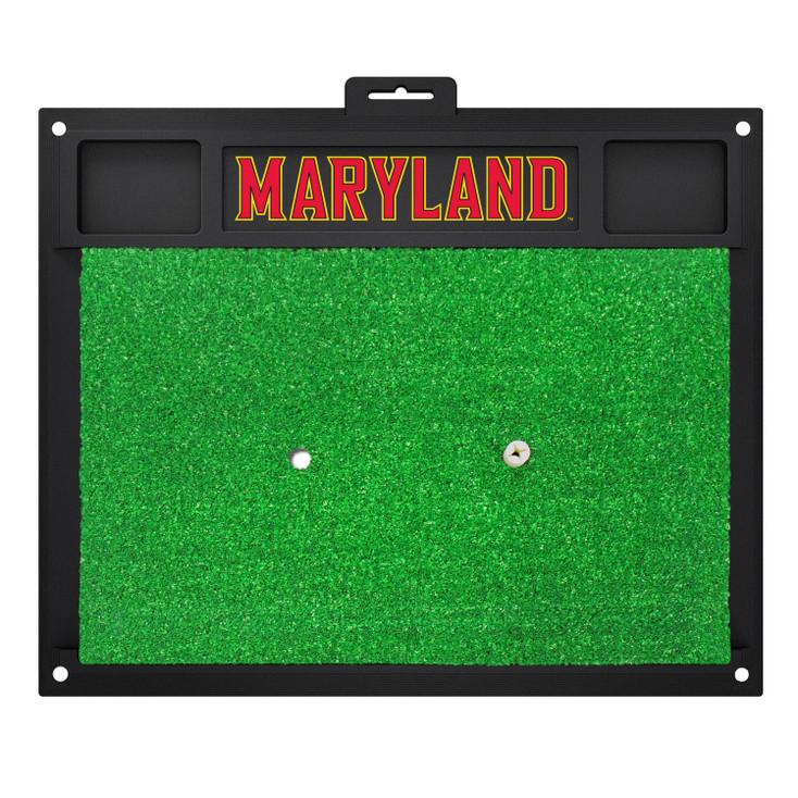 "20"" x 17"" University of Maryland Golf Hitting Mat"