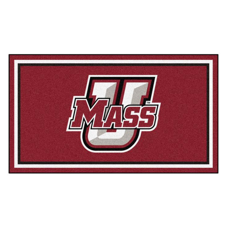 3' x 5' University of Massachusetts Maroon Rectangle Rug