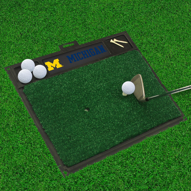 "20"" x 17"" University of Michigan Golf Hitting Mat"