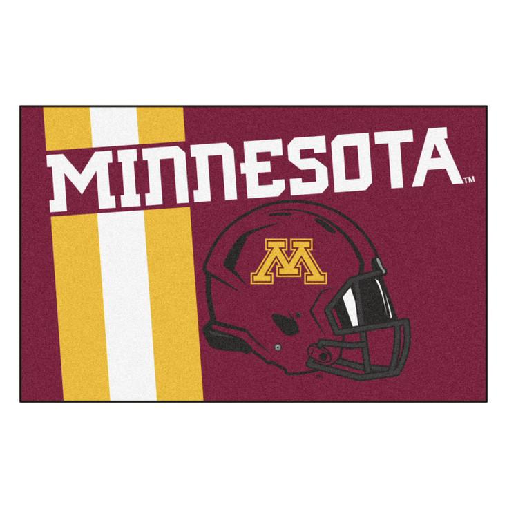 "19"" x 30"" University of Minnesota Uniform Red Rectangle Starter Mat"
