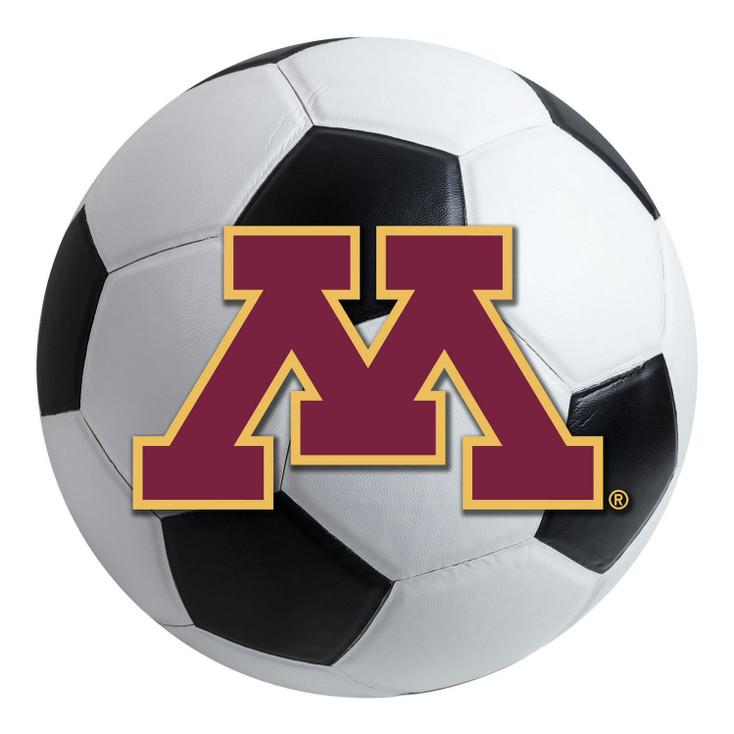 "27"" University of Minnesota Soccer Ball Round Mat"