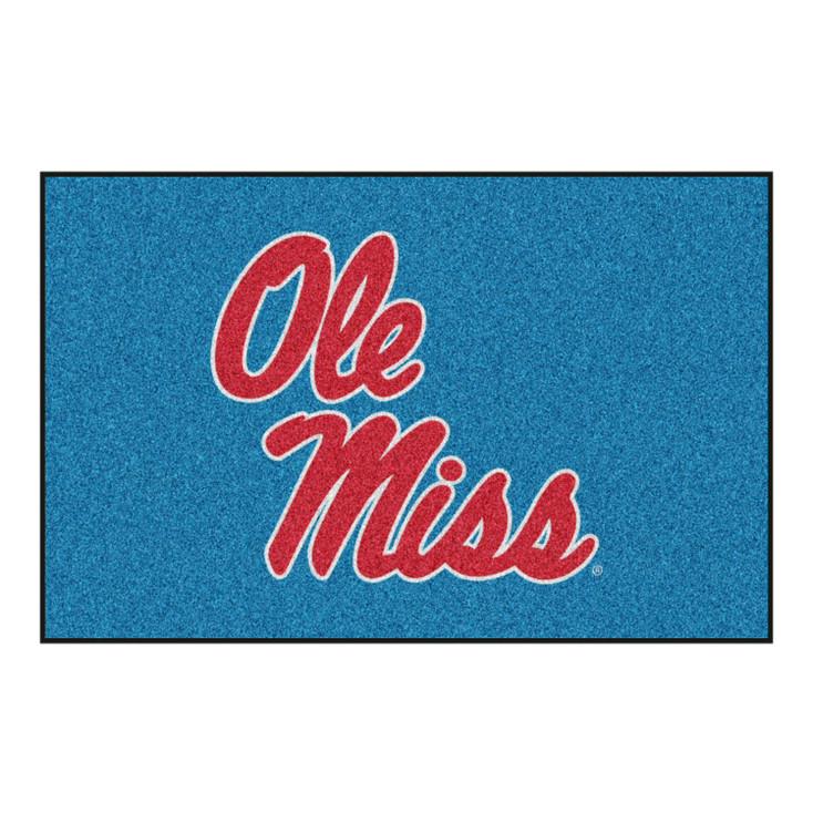 """19"""" x 30"""" University of Mississippi (Ole Miss) Rectangle Starter Mat"""