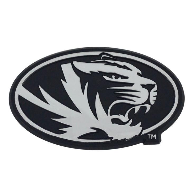 University of Missouri Chrome Emblem, Set of 2