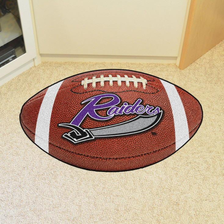"20.5"" x 32.5"" University of Mount Union Football Shape Mat"