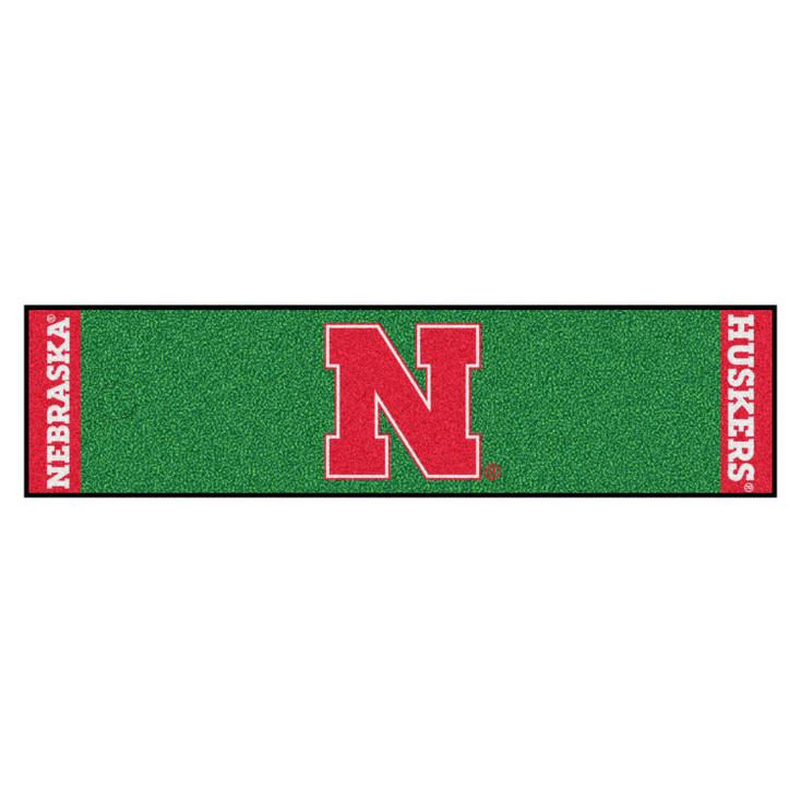 "18"" x 72"" University of Nebraska Putting Green Runner Mat"