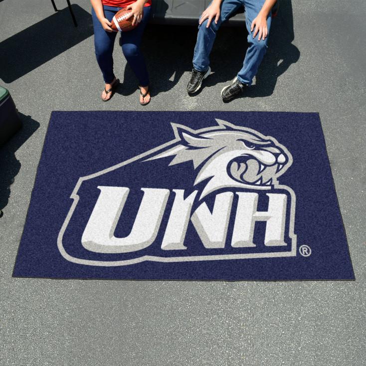 "59.5"" x 94.5"" University of New Hampshire Navy Blue Rectangle Ulti Mat"