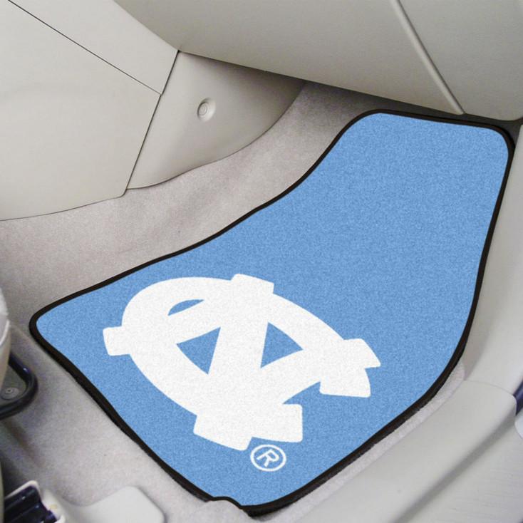 University of North Carolina Carpet Car Mat, Set of 2