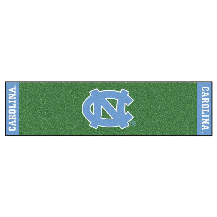 "18"" x 72"" University of North Carolina Putting Green Runner Mat"