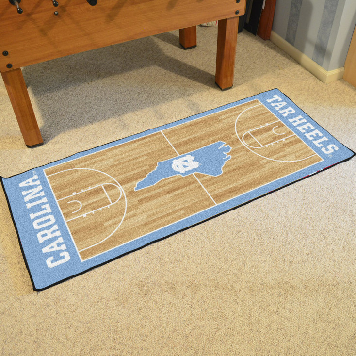 "30"" x 72"" University of North Carolina NCAA Basketball Rectangle Runner Mat"