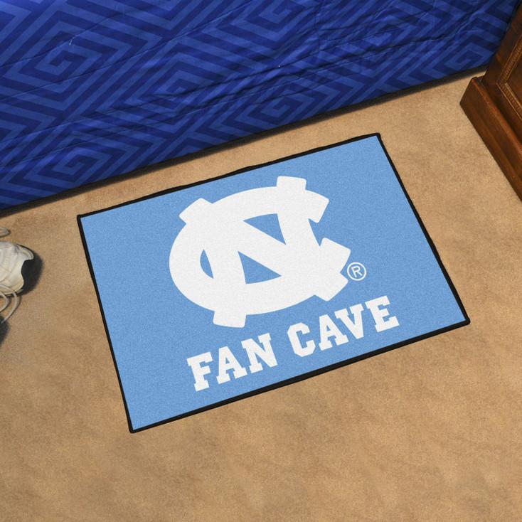 University of North Carolina Fan Cave Starter Blue Rectangle Mat