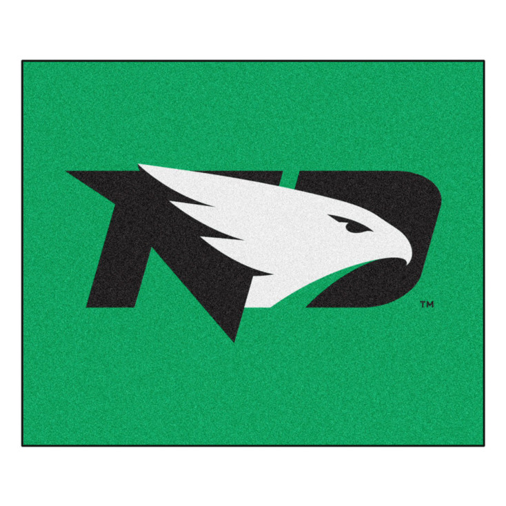 "59.5"" x 71"" University of North Dakota Green Tailgater Mat"