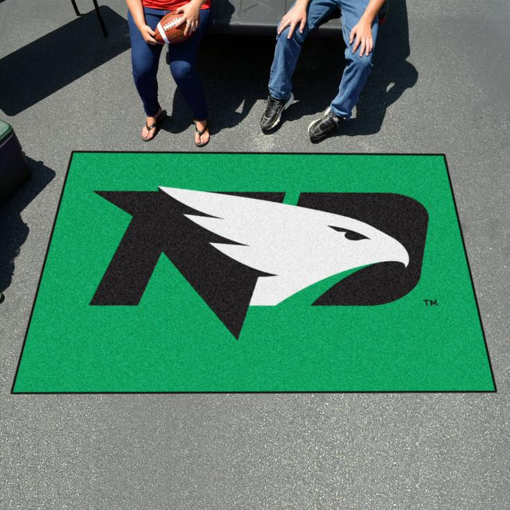"59.5"" x 94.5"" University of North Dakota Green Rectangle Ulti Mat"