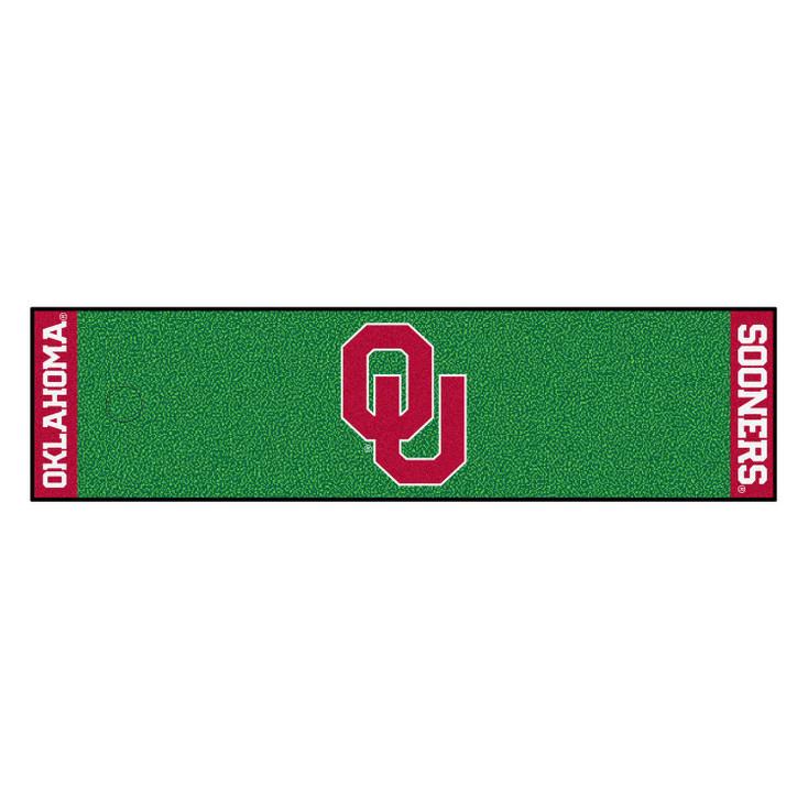 "18"" x 72"" University of Oklahoma Putting Green Runner Mat"