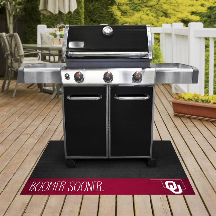University of Oklahoma Southern Style Grill Mat