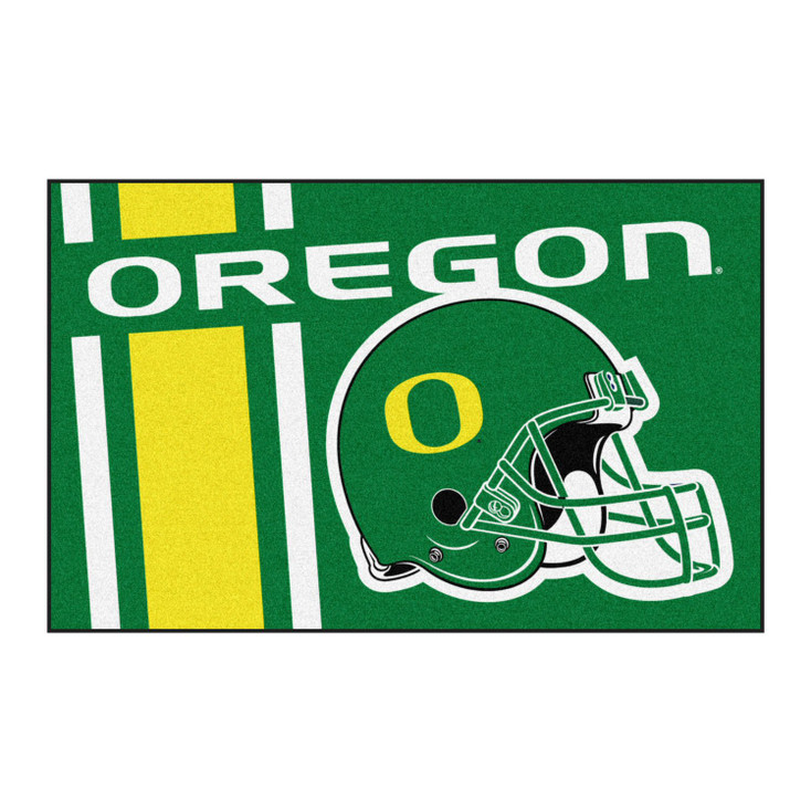 "19"" x 30"" University of Oregon Uniform Green Rectangle Starter Mat"