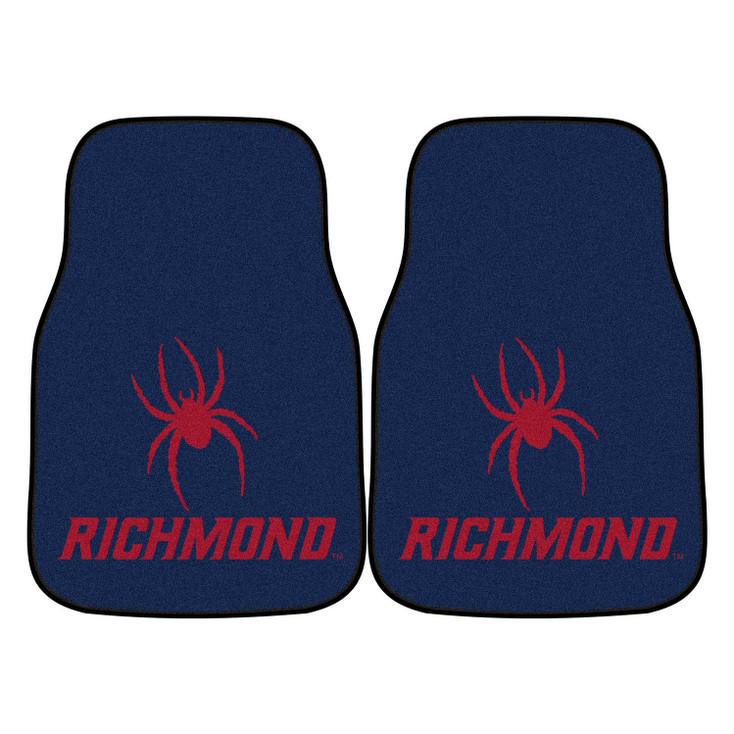 University of Richmond Carpet Car Mat, Set of 2