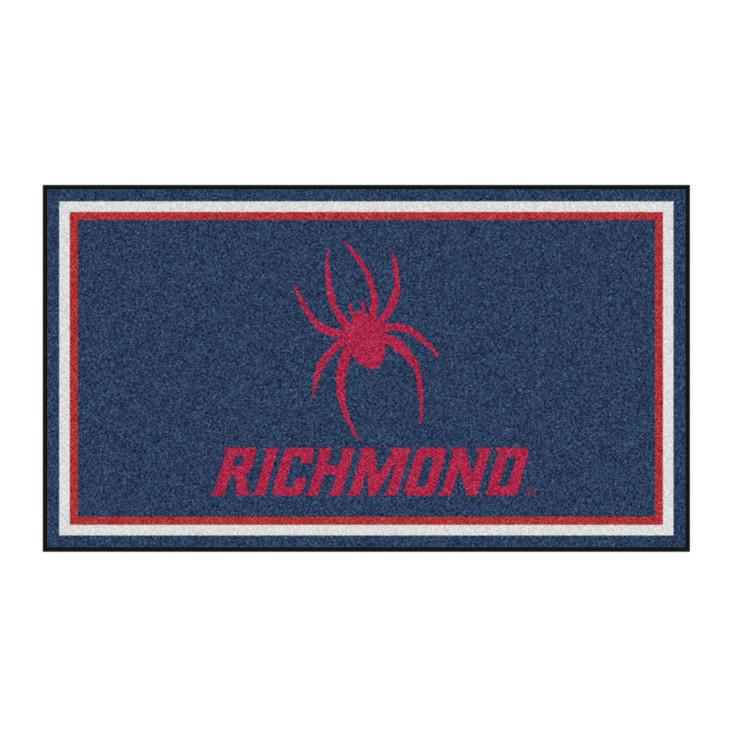 3' x 5' University of Richmond Navy Blue Rectangle Rug