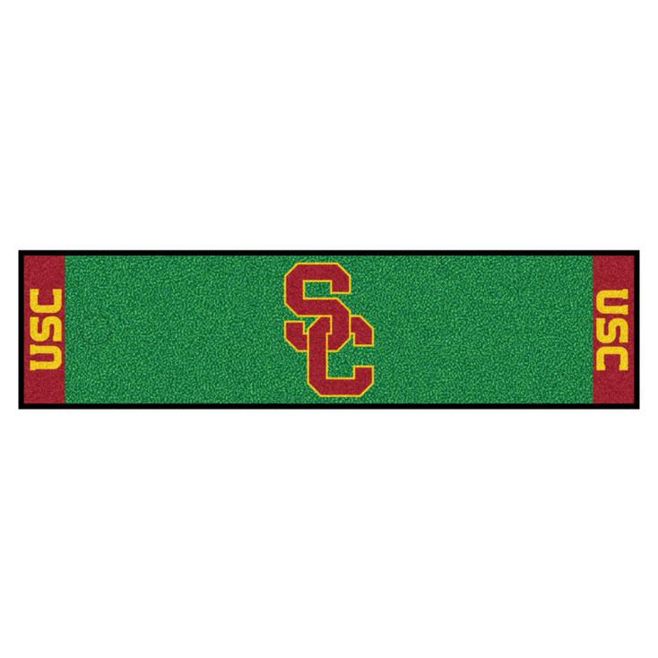 "18"" x 72"" University of Southern California Putting Green Runner Mat"