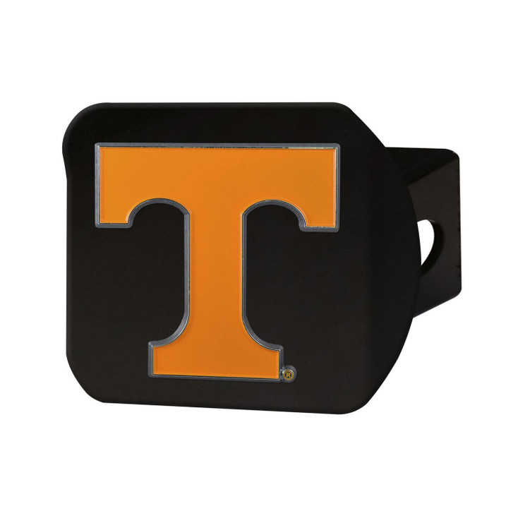 University of Tennessee Hitch Cover - Color on Black