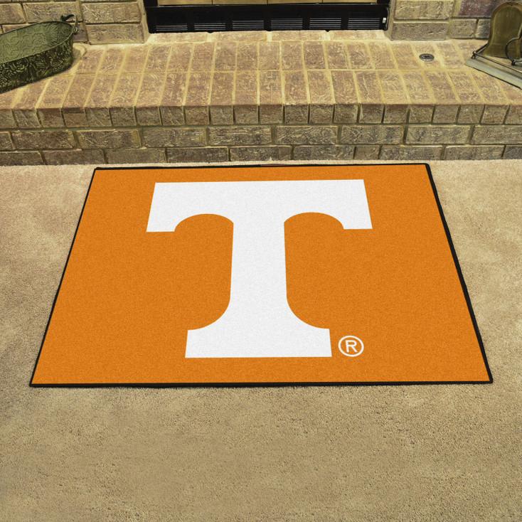 "33.75"" x 42.5"" University of Tennessee All Star Orange Rectangle Mat"