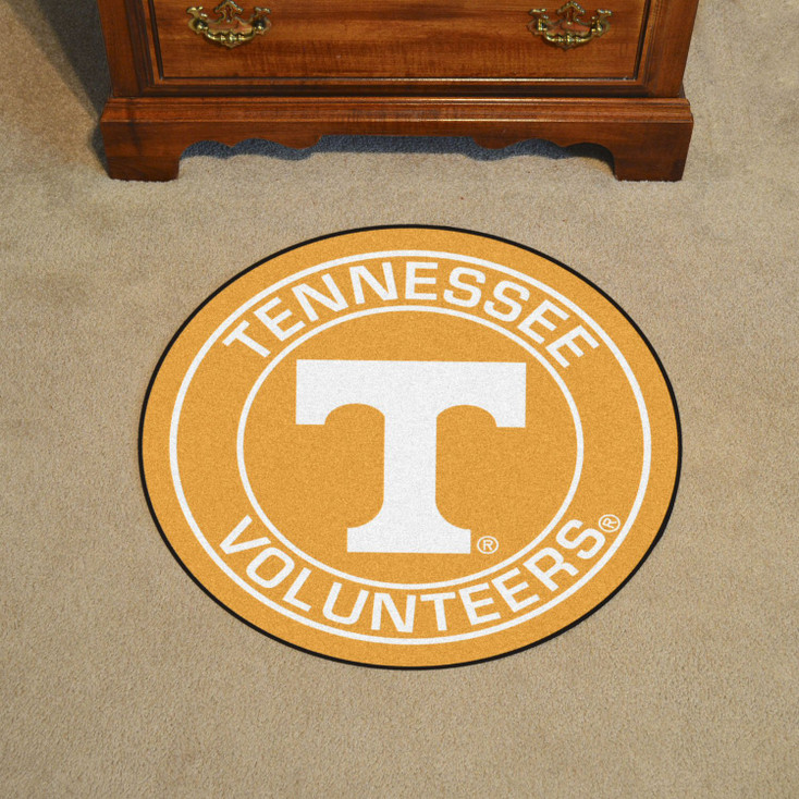 """27"""" University of Tennessee Roundel Round Mat"""