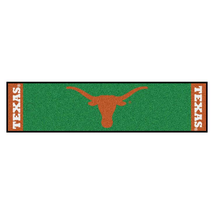 """18"""" x 72"""" University of Texas Putting Green Runner Mat"""