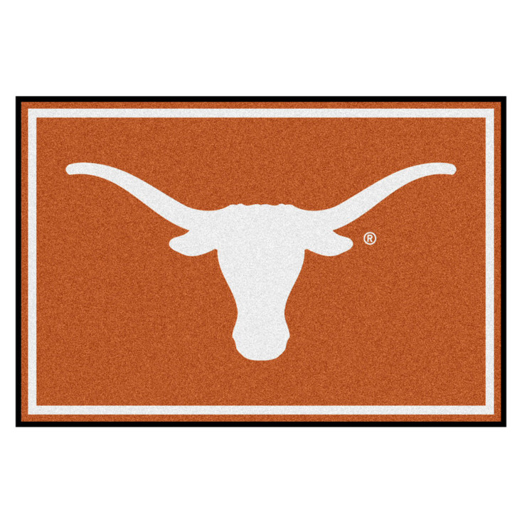 5' x 8' University of Texas Orange Rectangle Rug