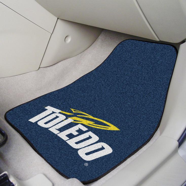 University of Toledo Carpet Car Mat, Set of 2