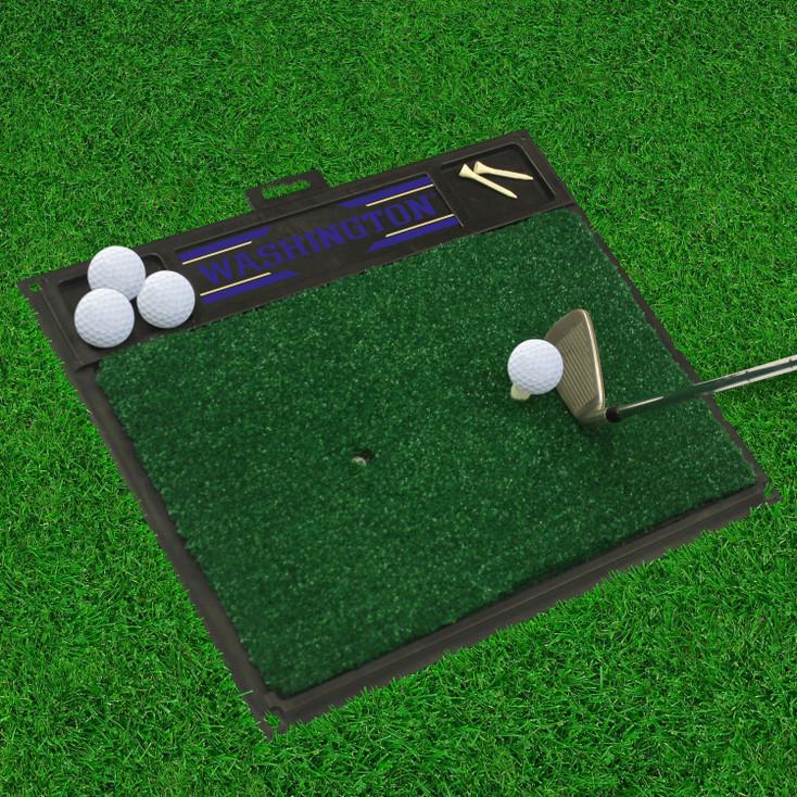 "20"" x 17"" University of Washington Golf Hitting Mat"