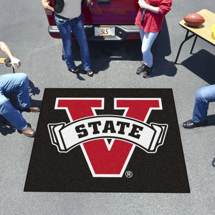 "59.5"" x 71"" Valdosta State University Black Tailgater Mat"