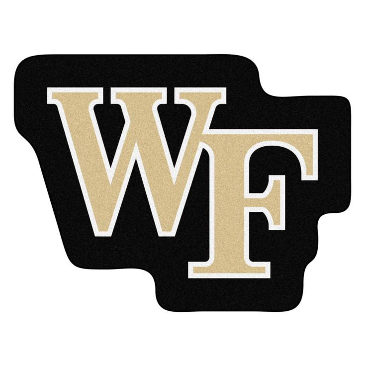 "Wake Forest University Mascot Mat - ""Demon Deacon"" Logo"