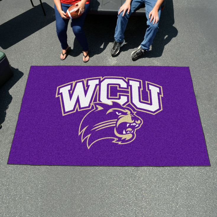 "59.5"" x 94.5"" Western Carolina University Purple Rectangle Ulti Mat"