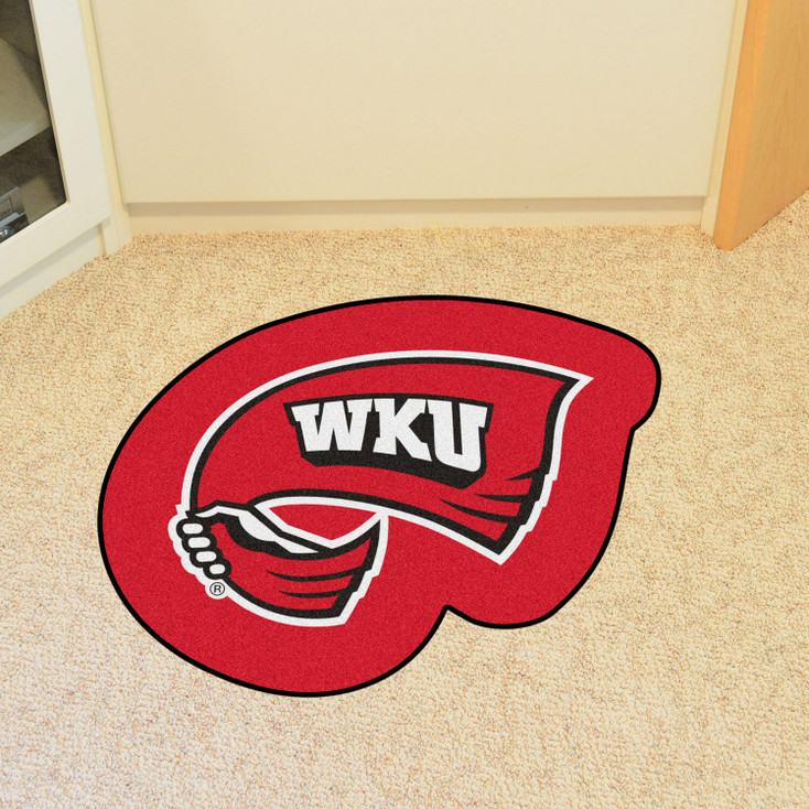 "Western Kentucky University Mascot Mat - ""Flag WKU"" Logo"