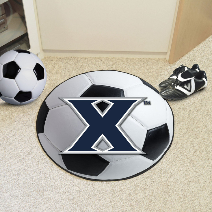 "27"" Xavier University Soccer Ball Round Mat"