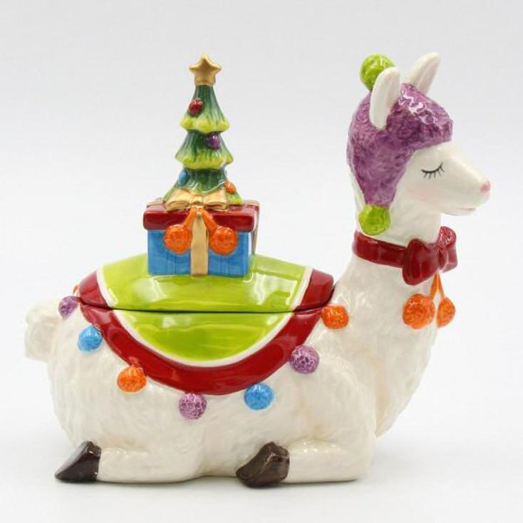 Llama Candy Box Dish